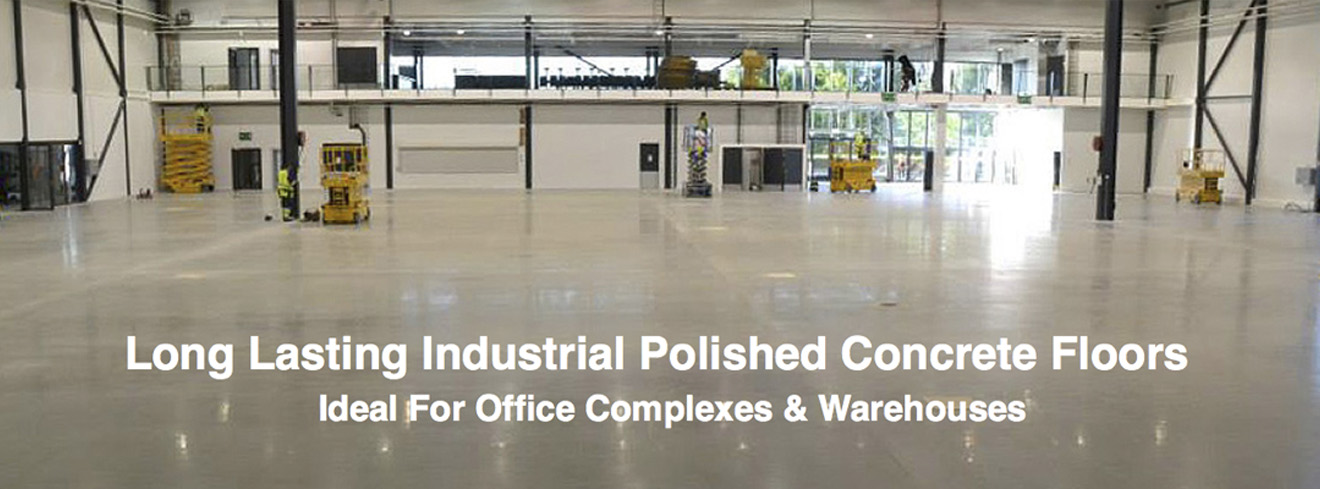 Polished cement and concrete specializing in buffed and polished flooring, warehouses, large businesss floors, commercial offices a specialty